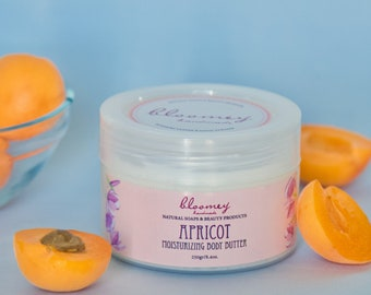 Apricot Body Butter, Whipped Body Butter, Apricot Scented Body Cream, Body Moisturizer, Apricot Body Lotion, Organic Skin Care, Body Care