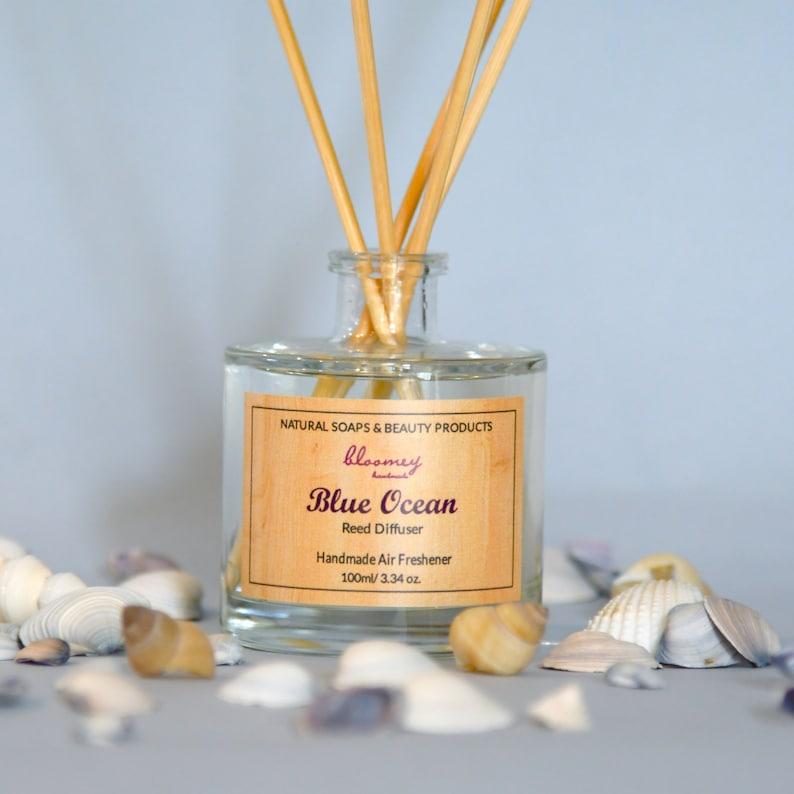 Natural Home Fragrance Blue Ocean Eco Diffuser Non-Toxic Air image 0