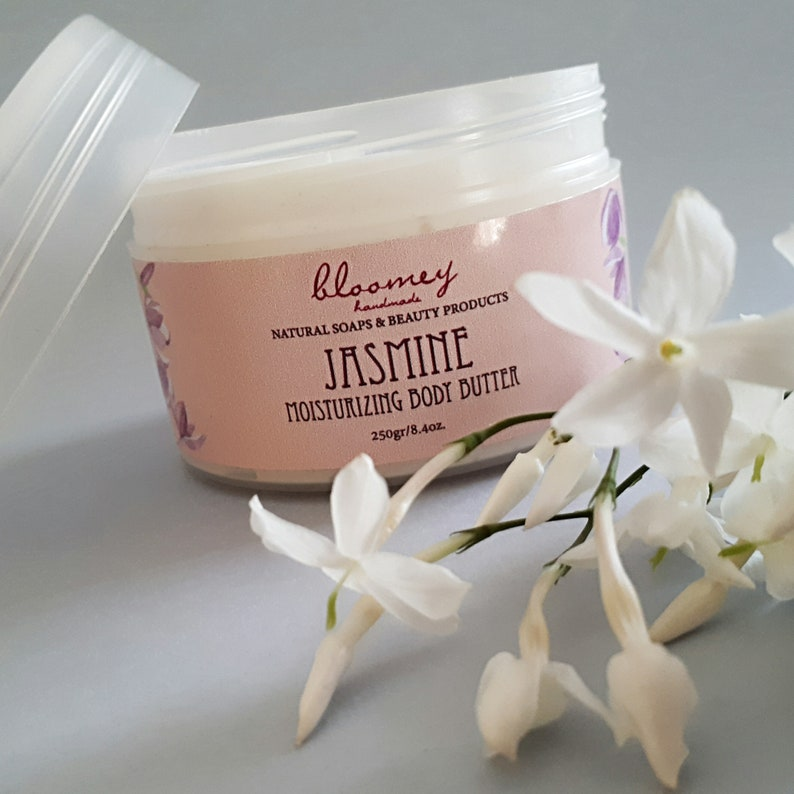 Jasmine Body Butter Organic Whipped Body Butter Natural Body image 0