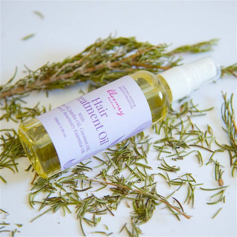Hair Treatment Oil Rosemary Oil For Hair Growth Anti-Frizz image 0