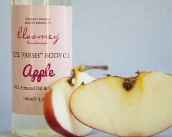 Apple Scented Body Oil, Natural Body Oil, Organic Body Moisturizer, Body Oil Spray, Skin Nourishing Oil, Organic Body Care, Self-Care Gift