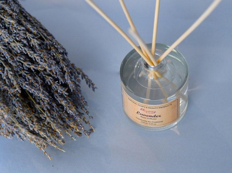 Lavender Reed Diffuser Botanical Air Freshener Lavender Home image 0