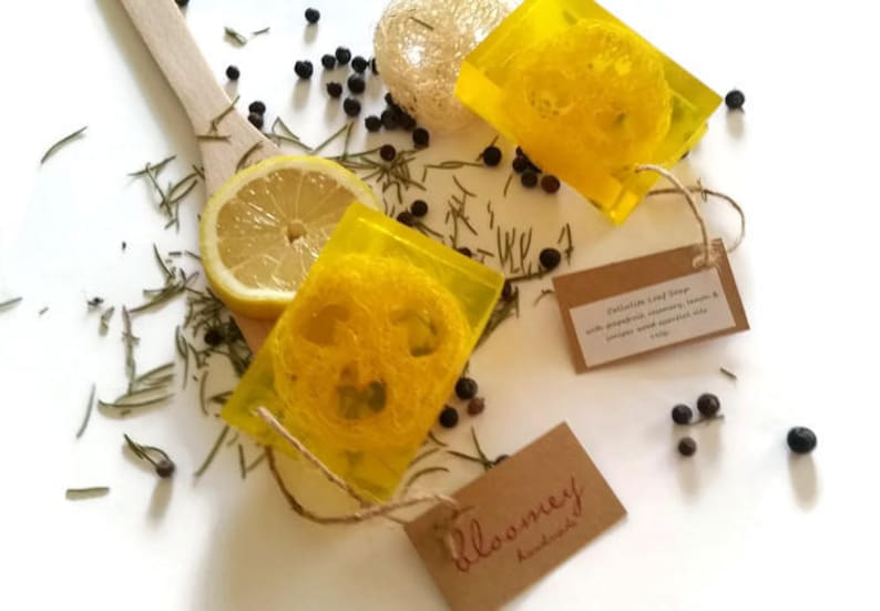Cellulite Soap With Loofah Exfoliating Soap Cellulite image 0