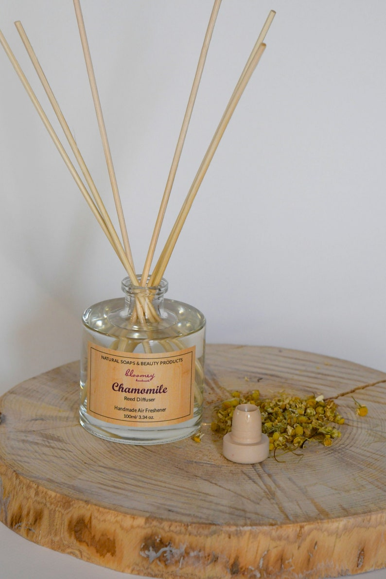 Chamomile Reed Diffuser Natural Room Diffuser Eco-Friendly image 0