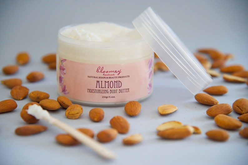 Almond Body Butter Flavored Body Moisturizer Almond Scented image 1