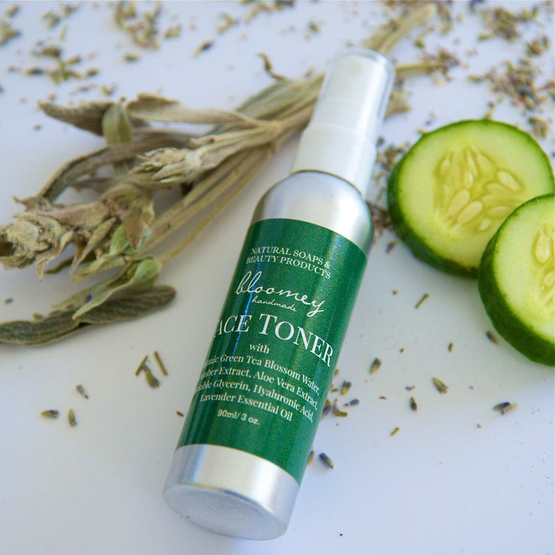 Organic Face Toner Face Toner With Aloe Lavender Face Mist image 0