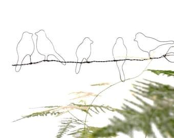 birds, decorating birds, wall bird, metal bird, decorative birds, metal branch birds, metal wall decoration, interior decoration