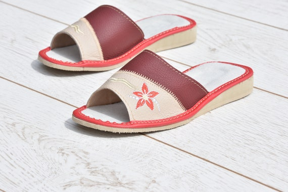 tongs pour en tongs l cuir babouches Evryday cuir confortables en pantoufles femmes chaussons Sandales qApxFwnF
