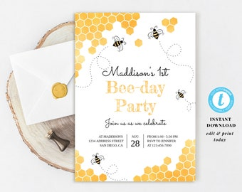 Bumble Bee Invite