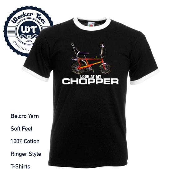 Men's Funny Look At My Chopper T-shirt, 5 colours