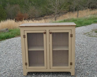 Rustic TV Stands, Media Consoles with Remote Accesible Doors