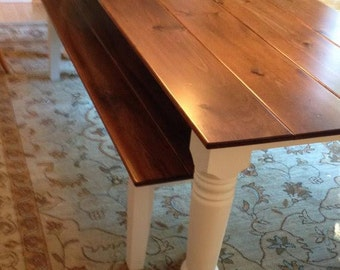 Oversize Farmhouse Table, Dining Tables, Rustic Kitchen Tables, Solid Wood Tables