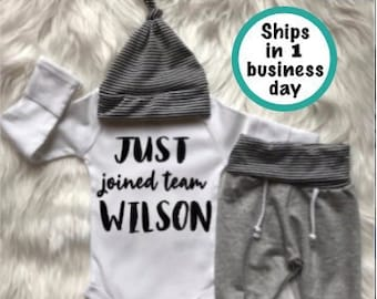 16637b54580 BABY BOY Coming Home Outfit baby boy personalized jogger baby hat baby  shower gift baby boy gift clothes new mom expecting mom gift