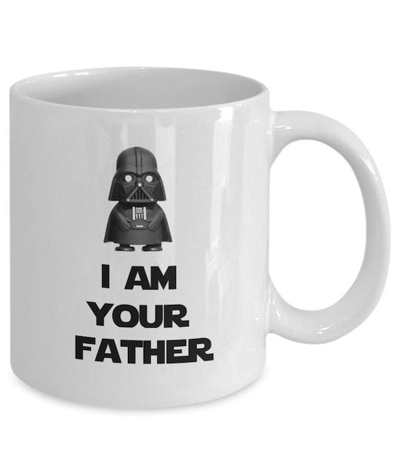 Star Wars taza de Darth Vader I am your father taza de café vasos de cerámica Mug