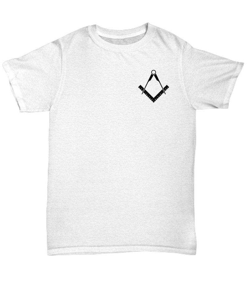 40badb2d Masonic shirt Freemasonry square compass symbol Lodge rite   Etsy