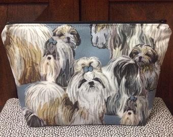 Shih Tzu Tote / Dog Love Pouch / Shih Tzu Gift