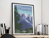 Tour du Mont Blanc Art Pr...