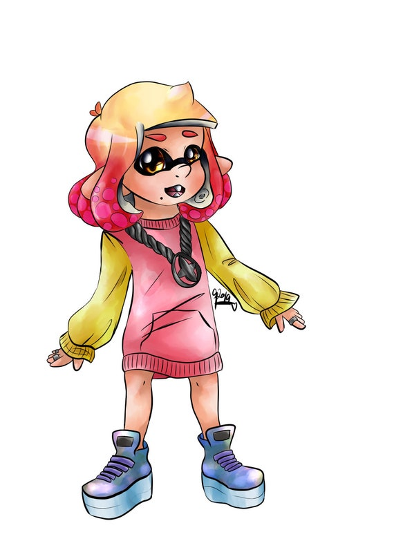 Pearl Splatoon Off The Hook Coloriage Page Png Image Sans Filigrane Imprimer à La Maison Cool Mignon De Couleur Anniversaire Coloriage Cadeau