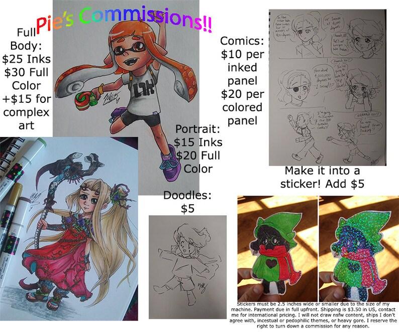 Art Commissions!!