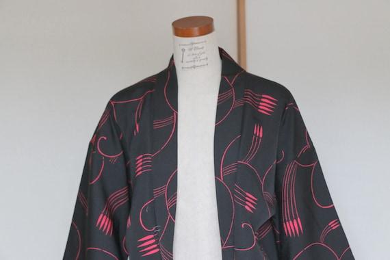 SALE /// Vintage Japanese Kimono Jacket, kimono J… - image 3