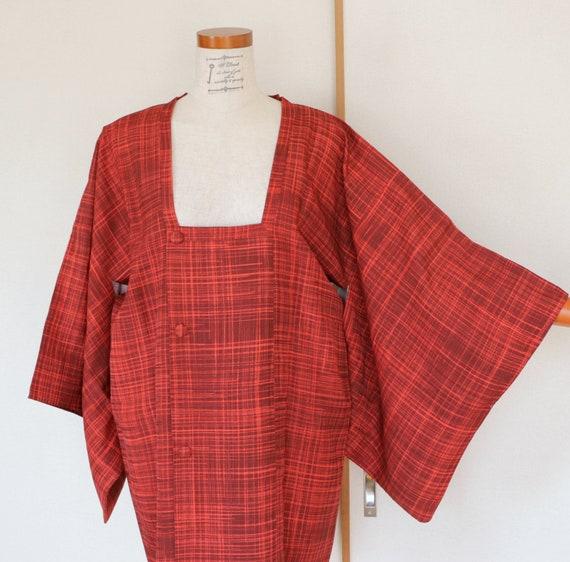 Vintage Kimono Coat, Baby pink coat, Vintage Japan