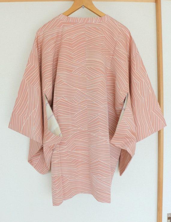 Vintage Pink Kimono Coat, Vintage Japanese Kimono… - image 2