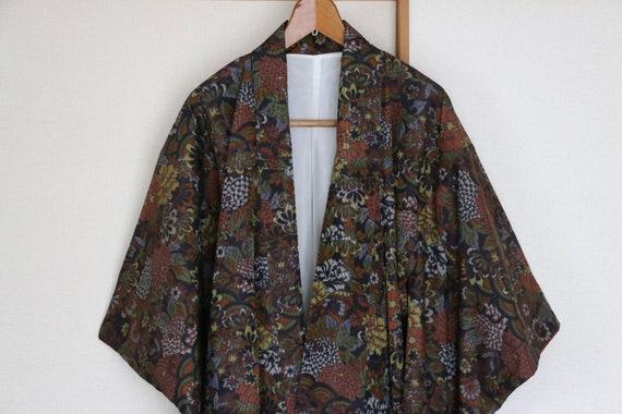 Vintage Japanese Kimono /// Gorgeous silk kimono,