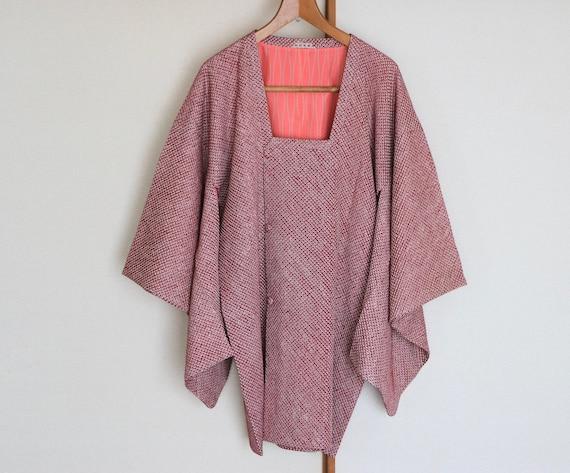 Vintage Kimono Coat /// Purple Kimono coat, kimono