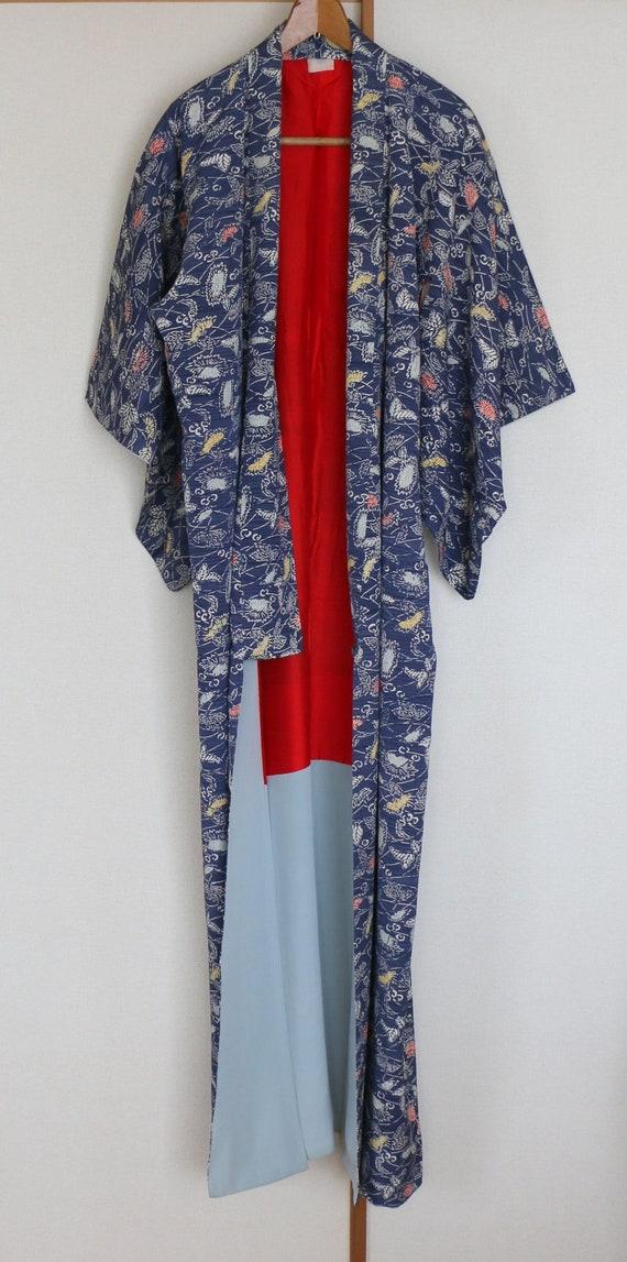 Vintage Kimono /// Kimono Robe, Kimono Gown, gown… - image 3
