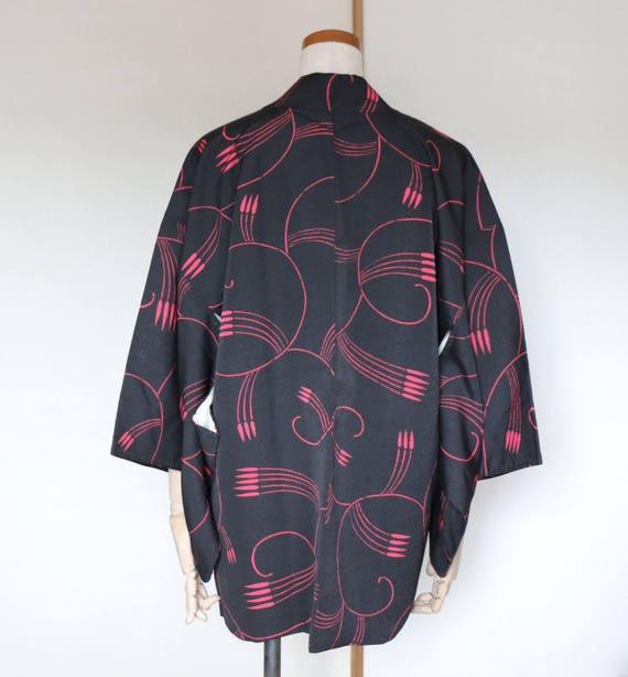 SALE /// Vintage Japanese Kimono Jacket, kimono J… - image 2