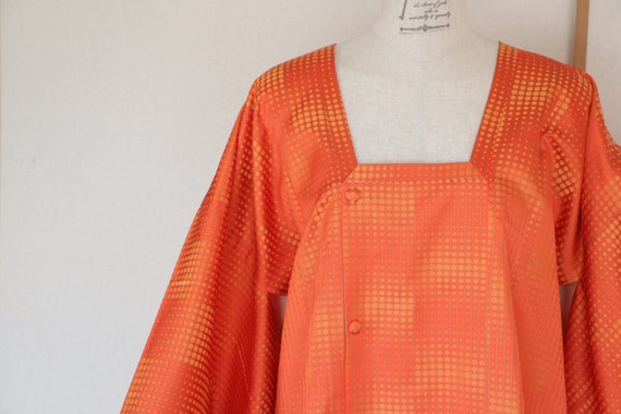 Vintage Japanese Kimono Coat,  kimono Coat, Michiy