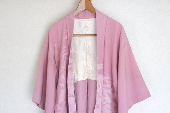 Vintage Japanese Kimono Jacket /// kimono Jacket,