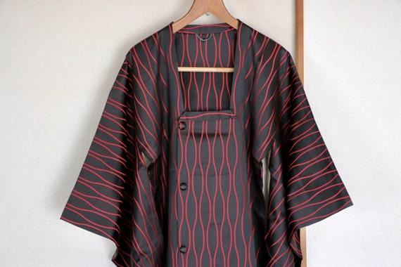 Vintage Kimono Coat ///  Long coat, Long kimono Co