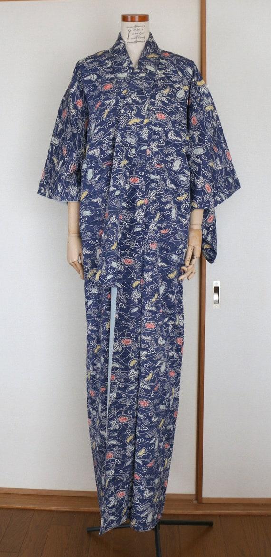 Vintage Kimono /// Kimono Robe, Kimono Gown, gown… - image 6