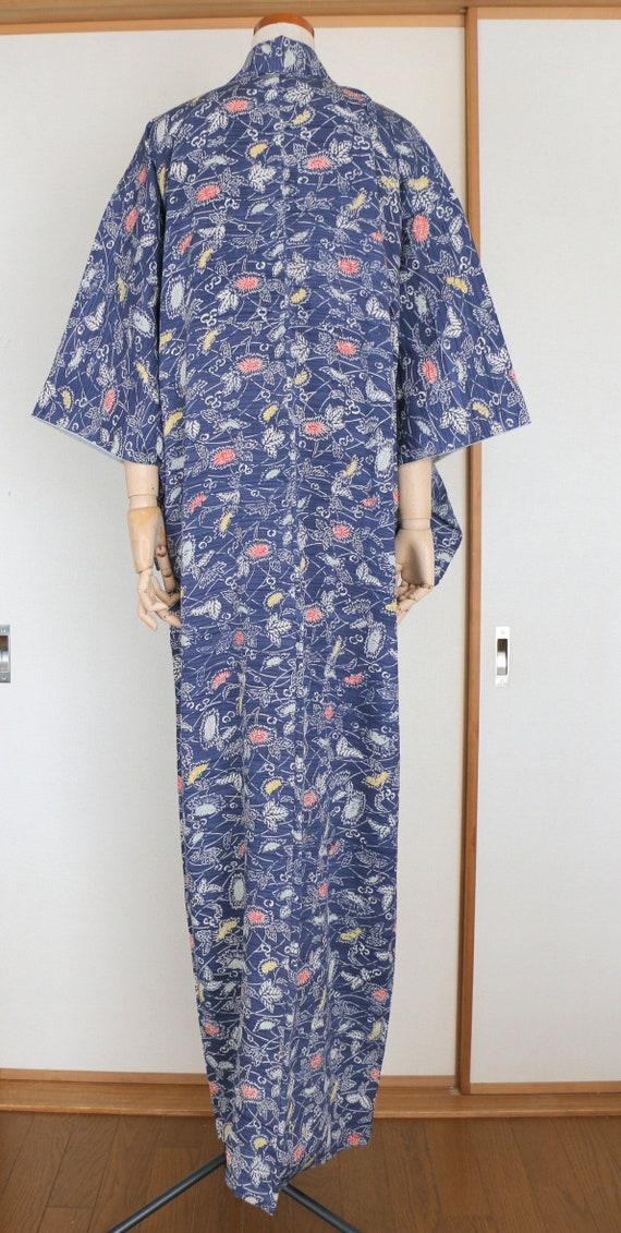 Vintage Kimono /// Kimono Robe, Kimono Gown, gown… - image 7