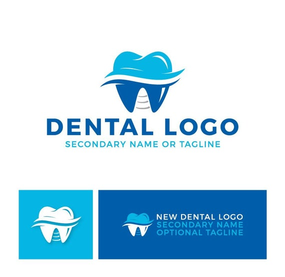Dental Logo Dentist Logo Tooth Logo Teeth Logo Premade Etsy