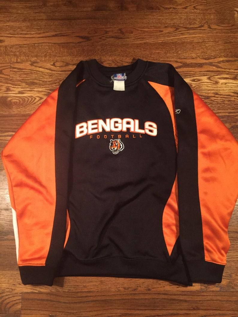 buy online 6e7c7 fa170 Cincinnati Bengals fleece youth crewneck sweatshirt