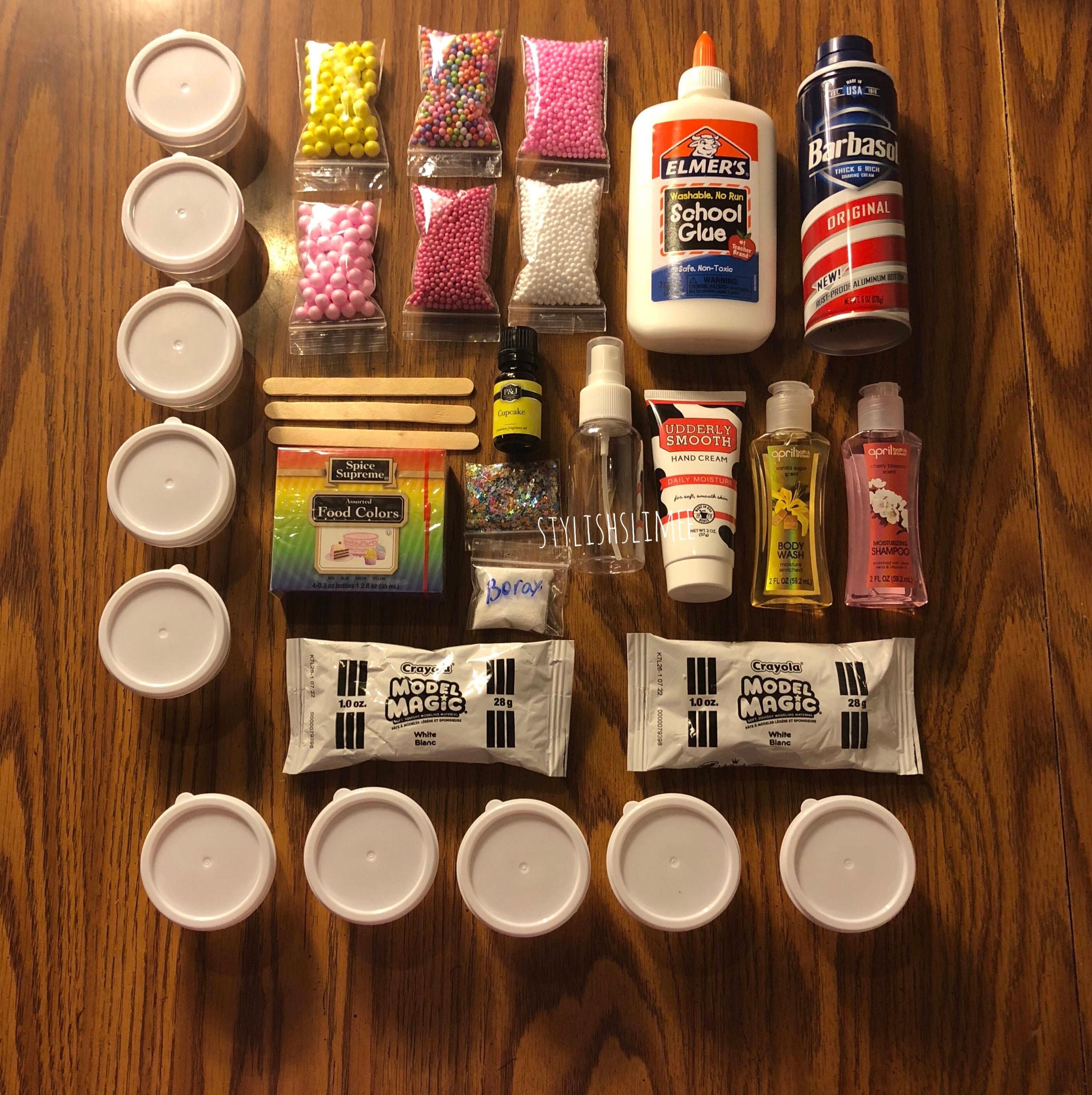 BIRTHDAY CAKE DIY Slime Kit 2 Slime Recipes Included