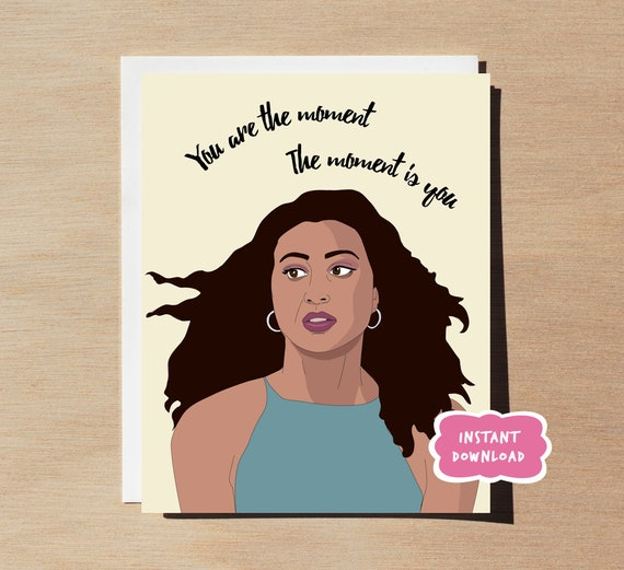 Crazy Ex Girlfriend Heather PRINTABLE Greeting Card