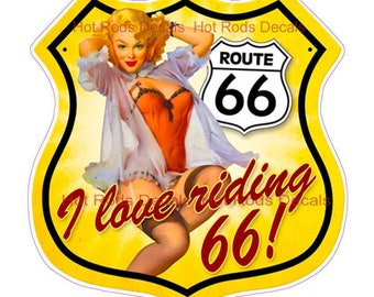 Route 66 Sticker/Decal