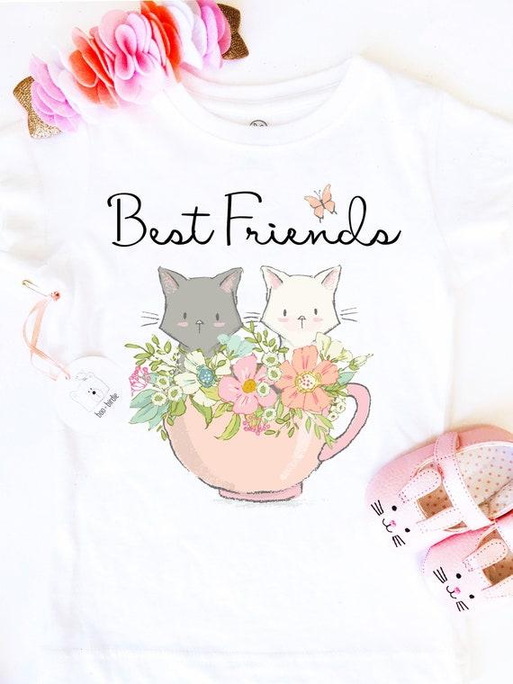 3fd7cf22b Best Friend Shirt Set Best Friend Shirt Kitten Best Friend