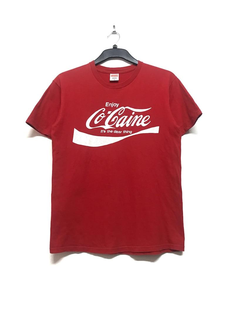 b3b75d20876c Supreme enjoy Cocaine Tee Size Medium
