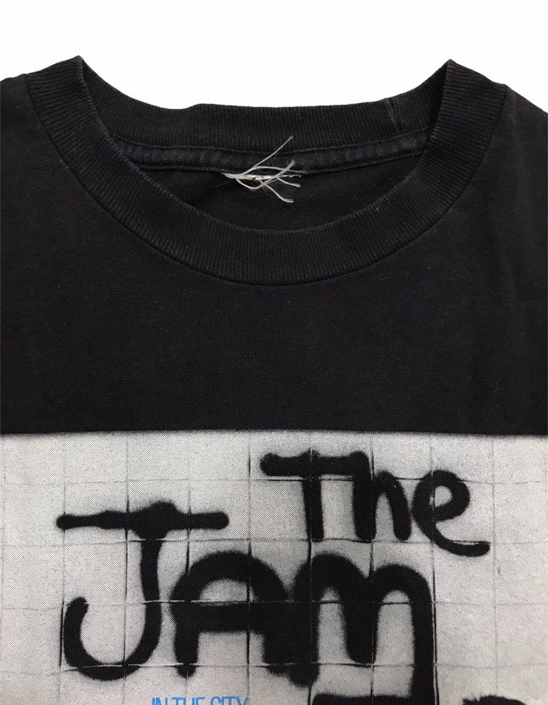 Vintage Y2K The Jam Punk Band in the city T-Shirt