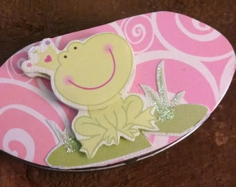 Frog Tooth Fairy Box, Lost Tooth, Handmade