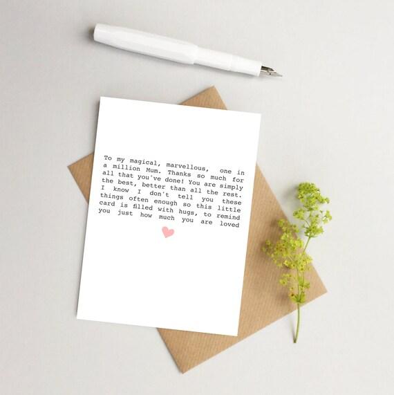 Geburtstagskarte Schreiben Mama.Karte Fur Mama Mutter Tag Karte Geburtstagskarte Fur Mama Danke Mama Karte Mutter Liebe Karte Karte Fur Mama Beste Mama Karte