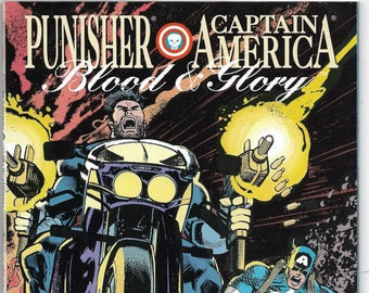 Captain America/Punisher TPB  Blood and Glory