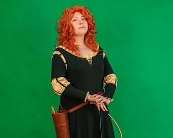 Merida Brave Disney Princess Cosplay Costume Custom Made