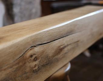 3ft Oak Fireplace Beam, Solid Oak Mantel, Oak Mantelpiece, French Oak  Mantels Handmade Free Delivery