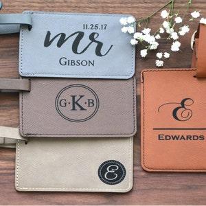 Luggage Tags Personalized Custom Luggage Tag Monogram | Etsy