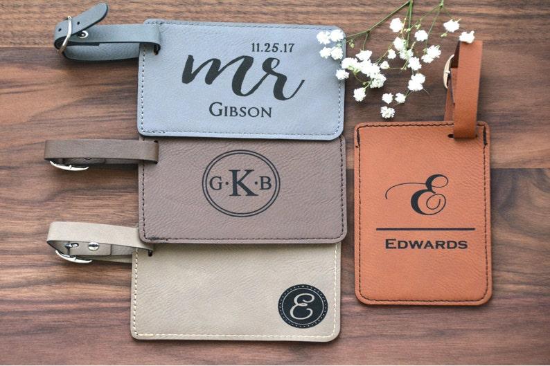 0b130c0bf7370 Wedding Favor Personalized Luggage Tag Custom Luggage Tag